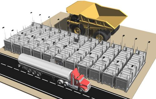 Fuel tank farm – BATTERY