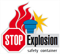 safety gas station container